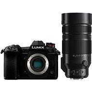Panasonic LUMIX DC-G9 Gehäuse + Leica DG Vario-Elmar 100 mm - 400 mm f/4,0-6,3 - Digitalkamera