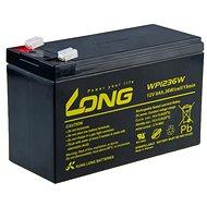 Lange 12V 9Ah Bleibatterie HighRate F2 (WP1236W) - Ladebatterie