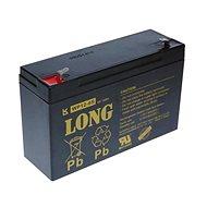 Lange 6V 12Ah Bleibatterie F1 (WP12-6S) - Ladebatterie