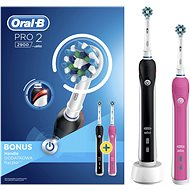 Oral-B PRO 2900 Cross Action + Bonus Handteil - Elektrische Zahnbürste