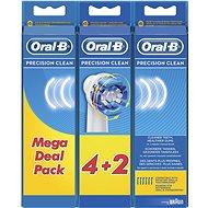 Oral-B Precision Clean Bürstenkopf 6 Stück - Ersatzzahnbürsten