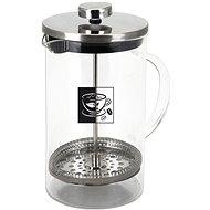 ORION Wasserkocher aus Glas / Edelstahl  Kafetier BD 0,35 l - French press