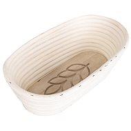 ORION ÄHRE Gärkörbchen aus Rattan oval 26 cm x 13 cm x 9 cm - Knetschüssel