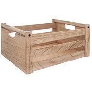 Holzkiste Dekoration A NATURAL 31x21x14 cm - Aufbewahrungsbox
