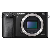 Sony Alpha A6000 schwarz, Gehäuse - Digitalkamera