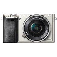 Sony Alpha A6000 Silber + Objektiv 16-50 Millimeter - Digitalkamera
