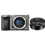 Sony Alpha A6000 Graphit + Objektiv 16-50mm - Digitalkamera