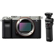 Sony Alpha A7C Silber + Griff GP-VPT2BT - Digitalkamera