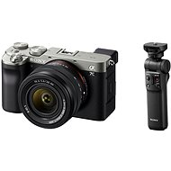 Sony Alpha A7C + FE 28-60mm silber + Griff GP-VPT2BT - Digitalkamera
