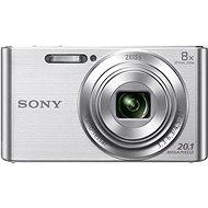 Sony Cybershot DSC-W830 Silber - Digitalkamera