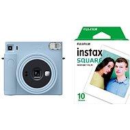 Fujifilm Instax Square SQ1 Hellblau + 10x Fotopapier - Sofortbildkamera