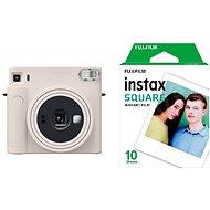 Fujifilm Instax Square SQ1 Silber + 10x Fotopapier - Sofortbildkamera