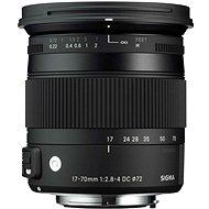 SIGMA 17 - 70 Millimeter f/2.8 - 4 DC MACRO OS HSM für Canon (Contemporary) - Objektiv