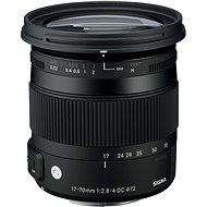SIGMA 17-70mm F2.8-4 DC MACRO HSM für Sony (Serie Contemporary) - Objektiv