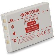 PATONA für Nikon EN-EL5 1000mAh Li-Ion - Kamera Batterien