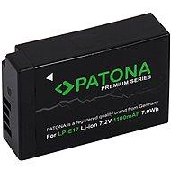 PATONA für Canon LP-E17 950mAh Li-Ion Premium - Kamera Batterien