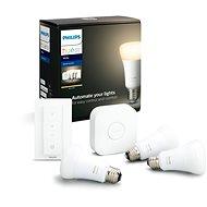 Philips Hue White 9W E27 Starterkit - LED-Birne