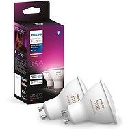 Philips Hue Weiß und Farbe Ambiente 5,7 W GU10 Set 2tlg - LED-Birne
