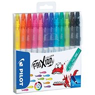PILOT Frixion Colors 0.39 - 0.7mm, Set mit 12 Farben - Filzstifte