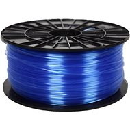 PLASTY MLADEČ 1.75mm PETG 1kg Blau transparent - Drucker-Filament