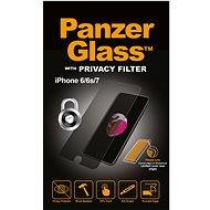 PanzerGlass Standard Privacy für Apple iPhone 6/6s/7/8 klar - Schutzglas