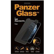 PanzerGlass Standard Privacy für Apple iPhone X / XS / 11 Pro Clear - Schutzglas