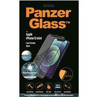 PanzerGlass Edge-to-Edge Antibakteriell für Apple iPhone 12 Mini Schwarz mit Blendschutz - Schutzglas