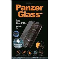 PanzerGlass Edge-to-Edge Antibakteriell für Apple iPhone 12/12 Pro Schwarz + Anti-blue light - Schutzglas