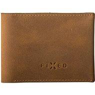 FIXED Smile Wallet mit Smart Tracker FIXED Smile und Bewegungssensor, braun - Portemonnaie