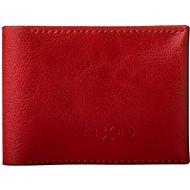 FIXED Smile Wallet mit Smart Tracker FIXED Smile und Bewegungssensor, rot - Portemonnaie