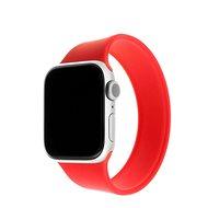 FIXED Elastic Silicone Strap für Apple Watch 42/44mm Größe XL rot - Armband