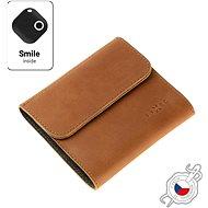 FIXED Smile Classic Wallet mit Smart Tracker FIXED Smile PRO braun - Portemonnaie
