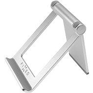 FIXED Frame Tab Tischständer für Mobiltelefone und Tablets - silber - Ständer