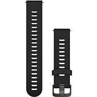 Garmin Quick Release 20 Silicone Black (Dunkle Schnalle) - Armband