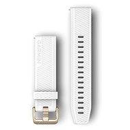 Garmin Quick Release 20 Silicone White (Goldschnalle) - Armband
