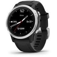 Garmin Fenix 6S Glas Silber / Schwarz Band - Smartwatch