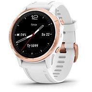 Garmin Fenix 6S PRO Glass RoseGold/White Band - Smartwatch
