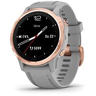 Garmin Fenix 6S Pro Saphire RoseGold / Gray Band - Smartwatch