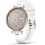 Garmin Lily Sport Cream Gold/White Silicone Band - Smartwatch