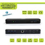 PORT CONNECT Dockingstation 2 x 4K Thunderbolt 3 - Dockingstation