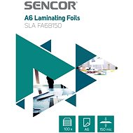 SENCOR SLA FA6B150 A6 150mic - Packung 100 Stück - Laminierfolie