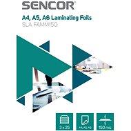 SENCOR SLA FAMM150 A4 150mic - Packung 3x25 Stück - Laminierfolie