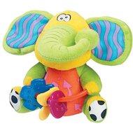 Playgro Klapper-Elefant mit Beißspielzeug - Plüschtier