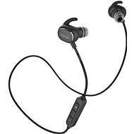 QCY QY19 Phantom Black - Kopfhörer mit Mikrofon