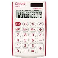 REBELL SHC 312 weiß / rot - Taschenrechner