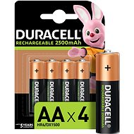 Duracell StayCharged AA - 2400 mAh 4 Stück - Ladebatterie