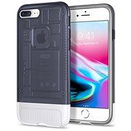 Spigen Classic C1 Graphit iPhone 8 Plus / 7 Plus - Silikon-Schutzhülle