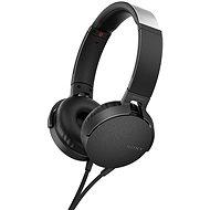 Sony MDR-XB550AP Schwarz - Kopfhörer mit Mikrofon