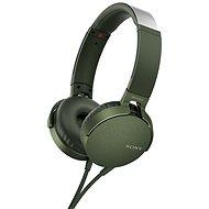 Sony MDR-XB550AP Grün - Kopfhörer