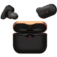 Sony True Wireless WF-1000XM3, schwarz - Drahtlose Kopfhörer